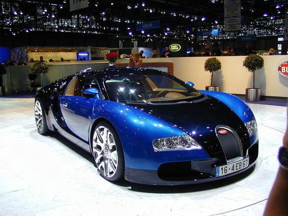 De Bugatti Veyron Super Sport