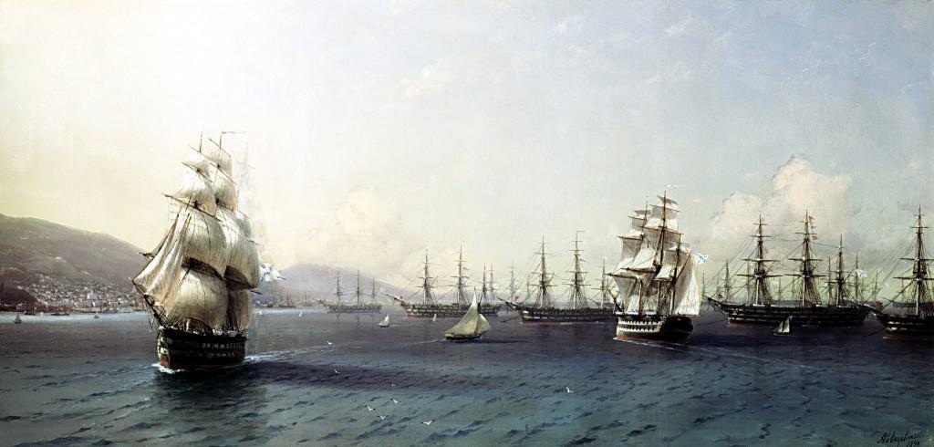 De Russische Zwarte Zee-vloot in de 18e eeuw