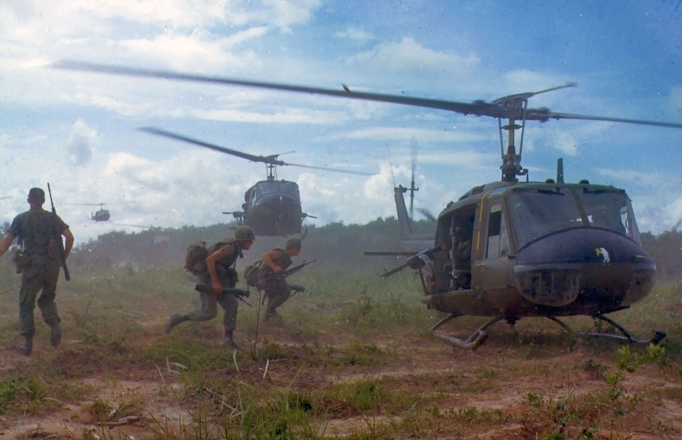 VS-soldaten in Vietnam