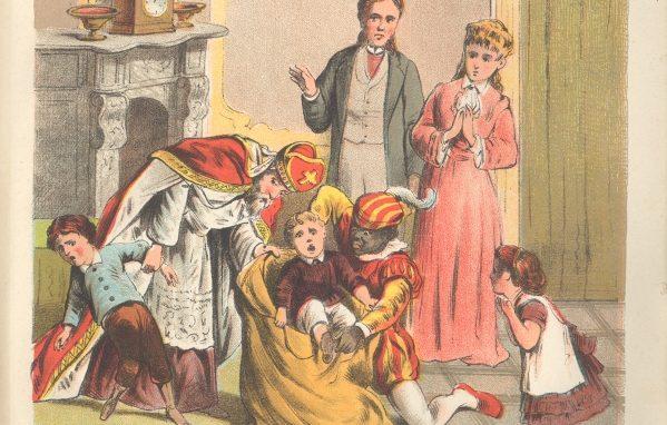 Sinterklaas in vroegere tijden