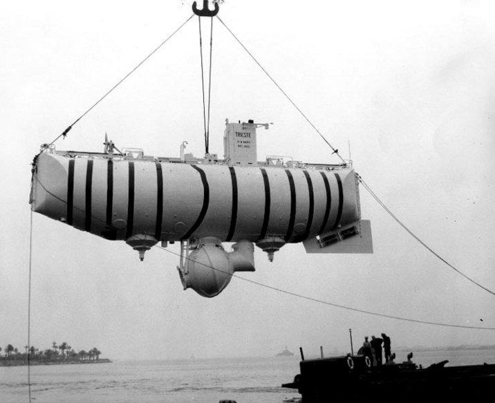 onderzeeer diepste duik