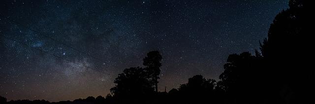 nacht buitenaards leven