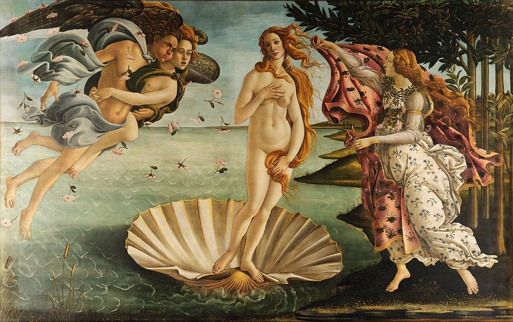 De geboorte van Venus
