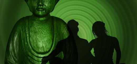 mediteren boeddha