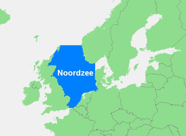 Hoe diep is de Noordzee