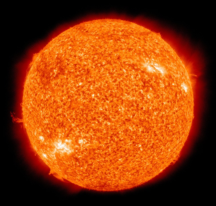 Temperatuur zon
