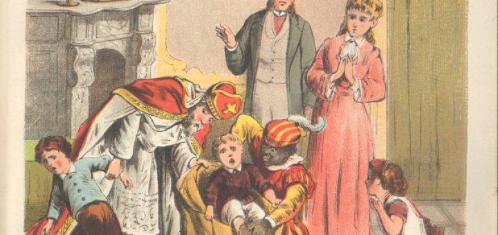 Sint Nikolaas Zwarte Piet vroeger