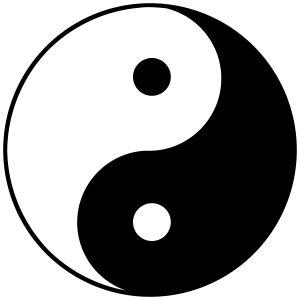 Non-dualiteit Ying-Yang